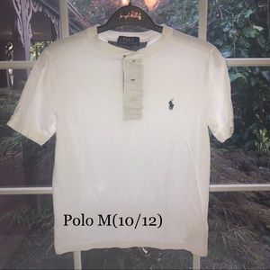 Polo Boys Medium Shirt